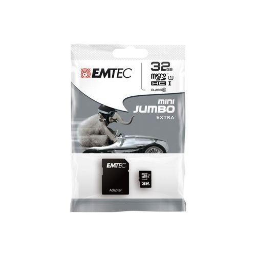 emtec speicher karte micro sd hc 32gb c10 sd adapter f r. Black Bedroom Furniture Sets. Home Design Ideas