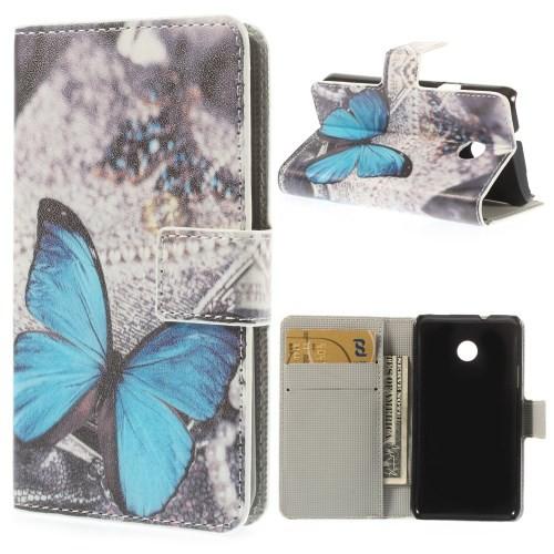 Flip Case/Handy-Hülle zu Huawei Ascend Y330 STAND BOOK MOTIV Tasche/Schutz-Cover