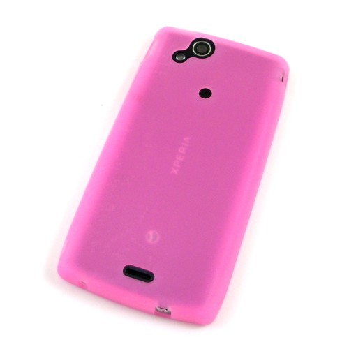 Silikon-Case / Hülle zu Sony Ericsson Xperia arc / arc S - Pink