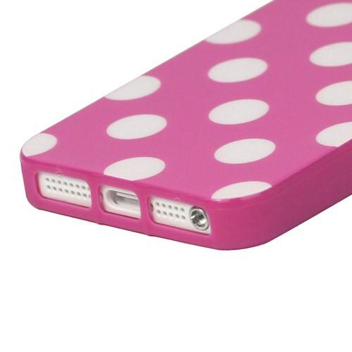 tpu case handy h lle zu apple iphone 5s 5 se dot. Black Bedroom Furniture Sets. Home Design Ideas