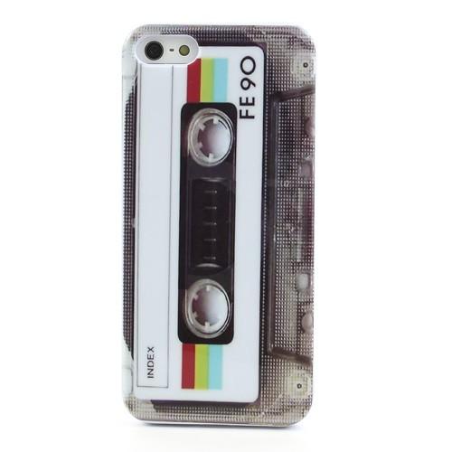 tpu case handy h lle zu apple iphone 5s 5 se cassette. Black Bedroom Furniture Sets. Home Design Ideas