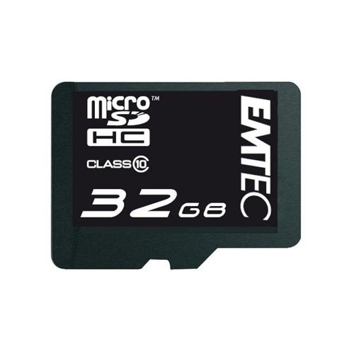 emtec speicher karte micro sd hc 32gb c10 sd adapter. Black Bedroom Furniture Sets. Home Design Ideas
